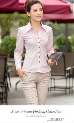 Model Baju Kemeja Lengan Panjang Wanita Terbaru