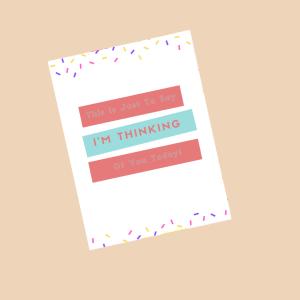 sending you hugs postcard