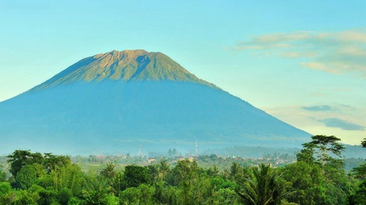 Mount Agung The Highest Point in Bali