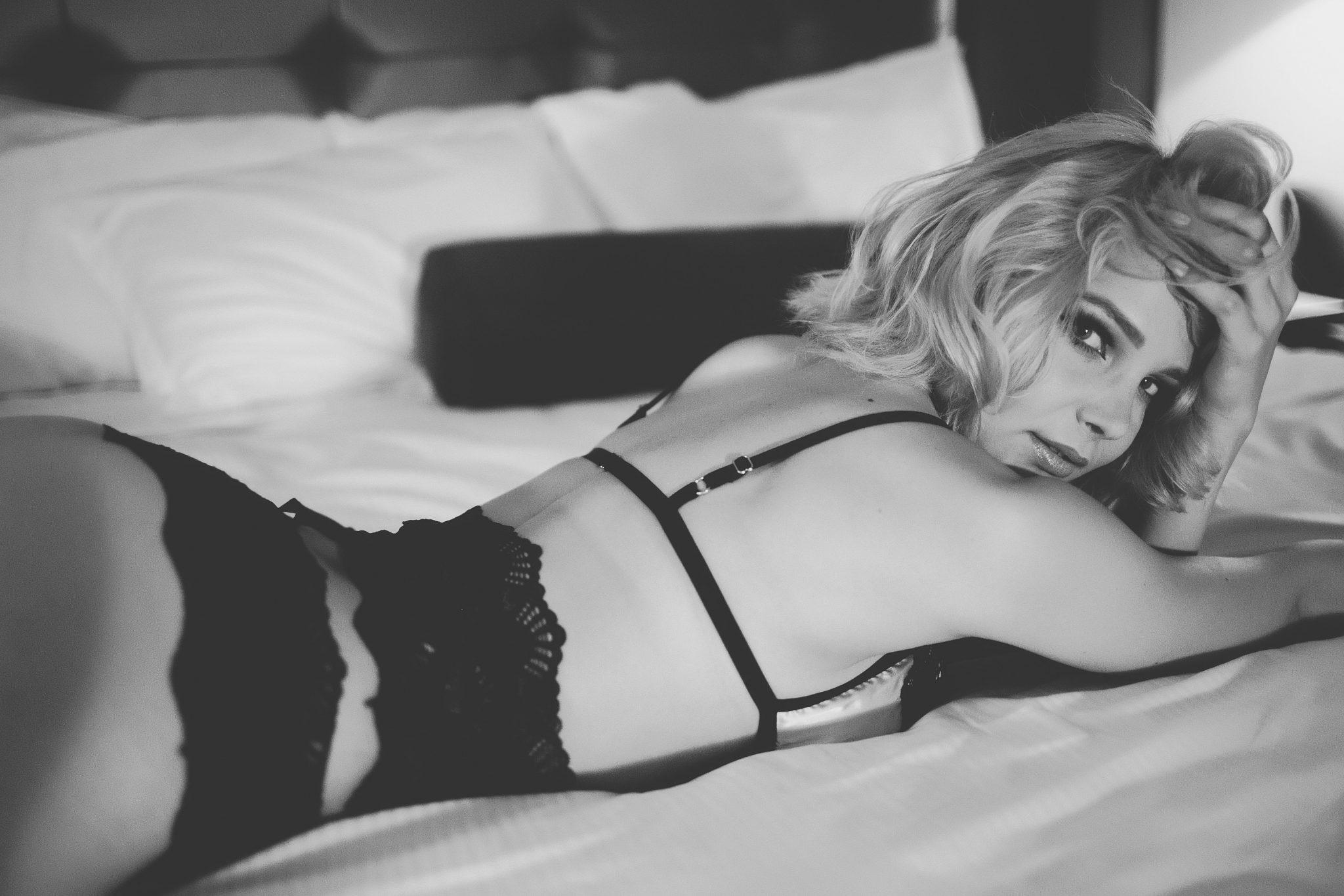 Sexy photograph of a beautiful woman