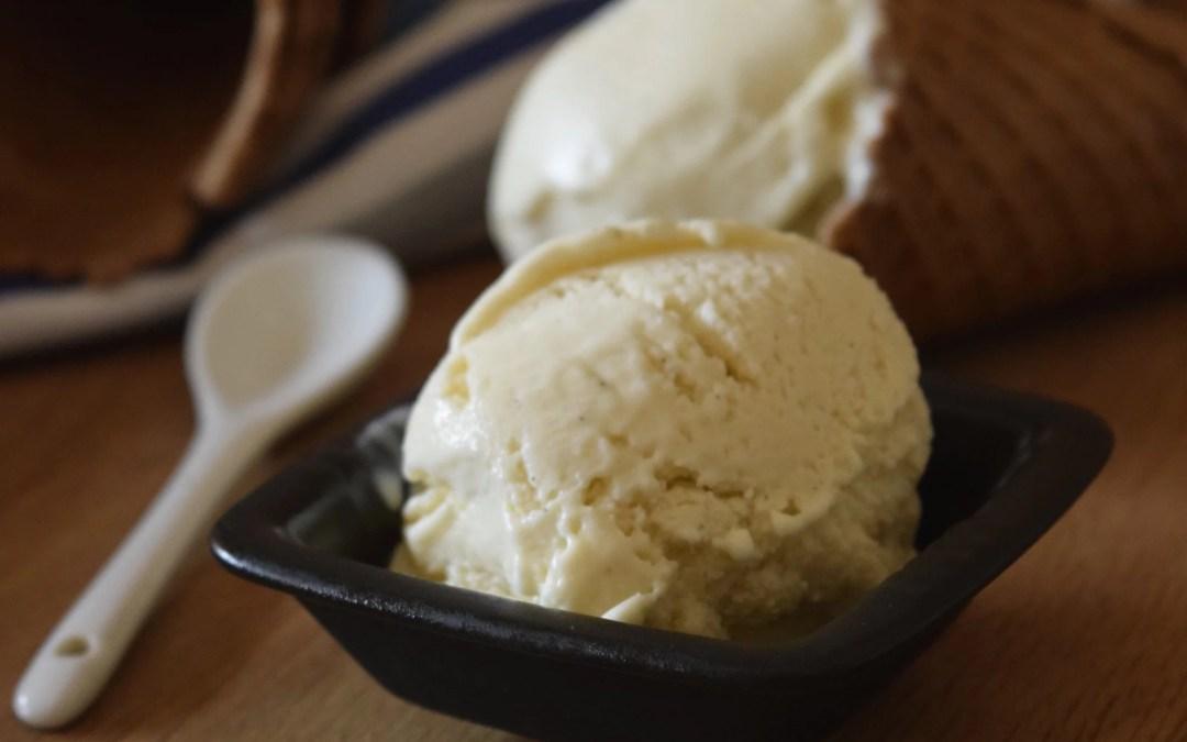 Παγωτό βανίλια με κρεμώδη υφή!
