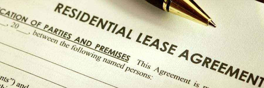 Cancelling a lease agreement