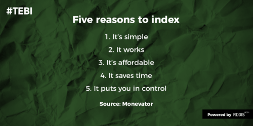 reasons for index investing