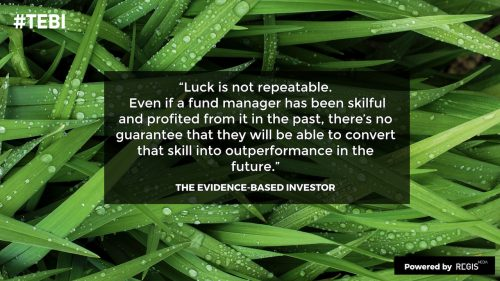 Huge luck in the investment world, like Woodford had, are not likely.