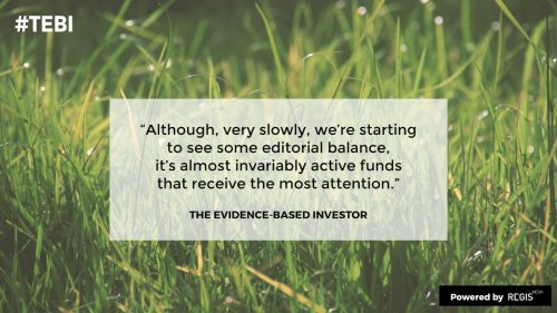editorial biases are still there and hinder the advice profession