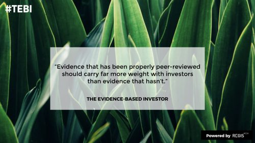 the investing documentary of produced by RegisMedia covers evidence based investing
