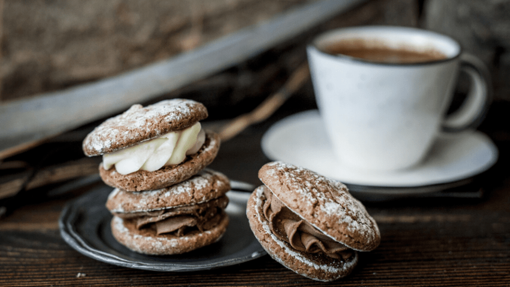 Cokelat dengan palm sugar