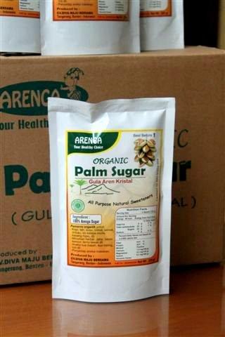 palm sugar kemasan arenga