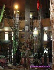 sebagian isi museum
