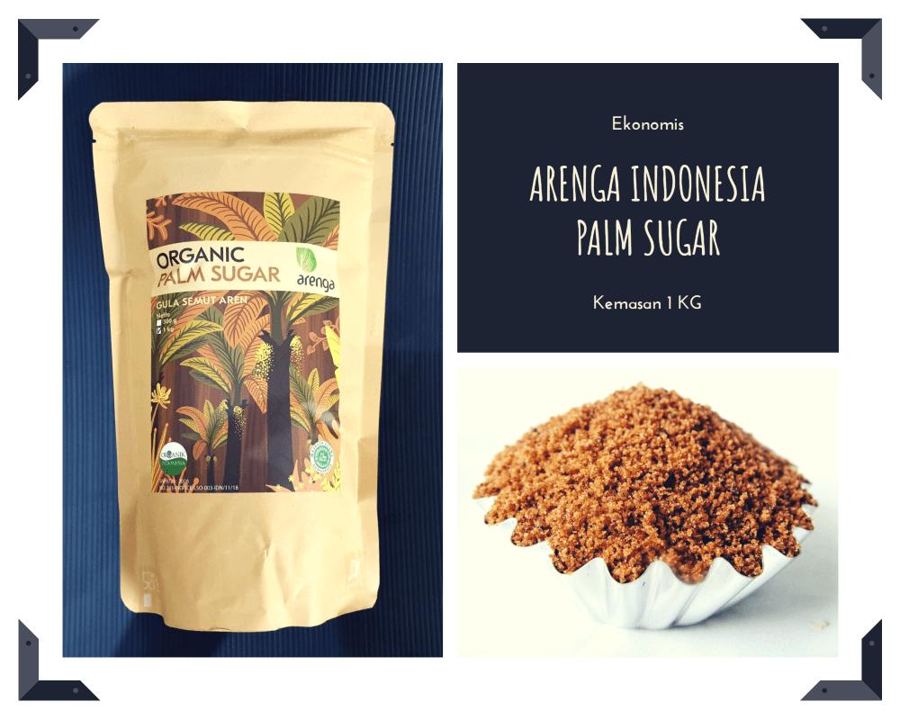 Arenga indonesia palm sugar kemasan 1 kilo
