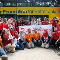 Rame-rame naik Trans Jakarta