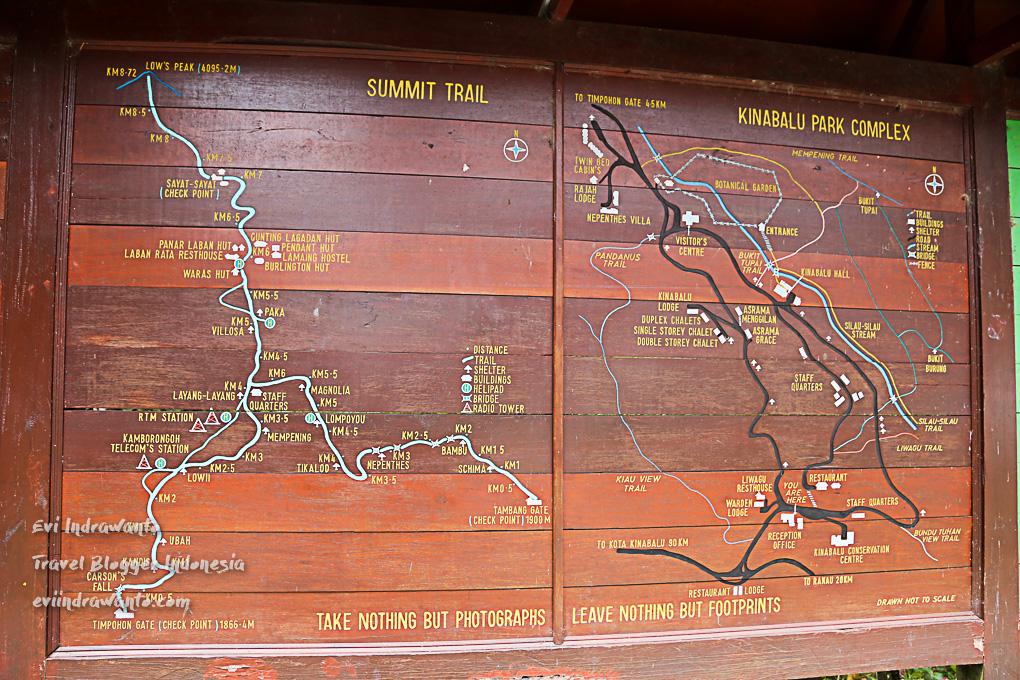 Trek pendakian Gunung Kinabalu