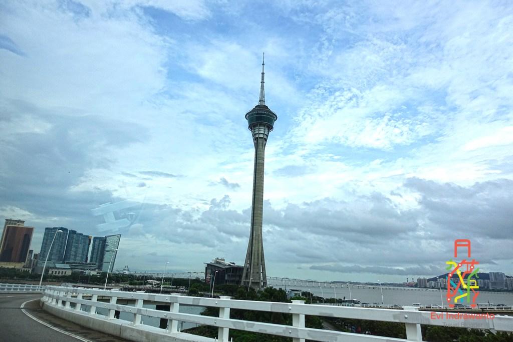 Keindahan Panorama Kota dari Macau Tower