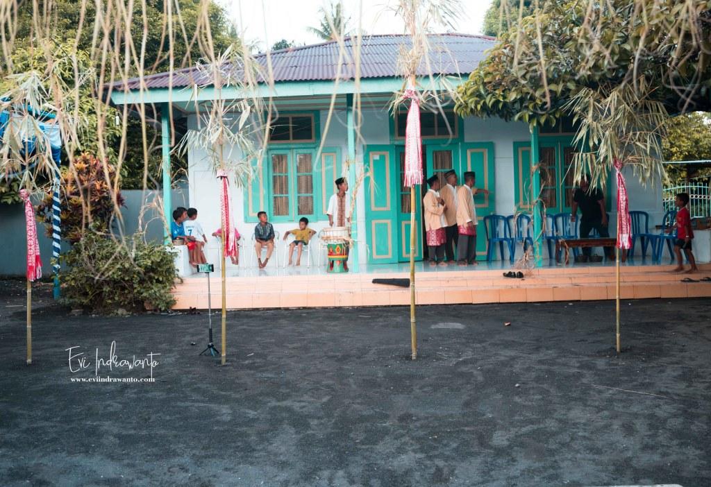 Bambu ini simbolisasi dari penderitaan Rakyat Banda