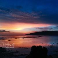 Blue hours di Pantai Seger Lombok Tengah