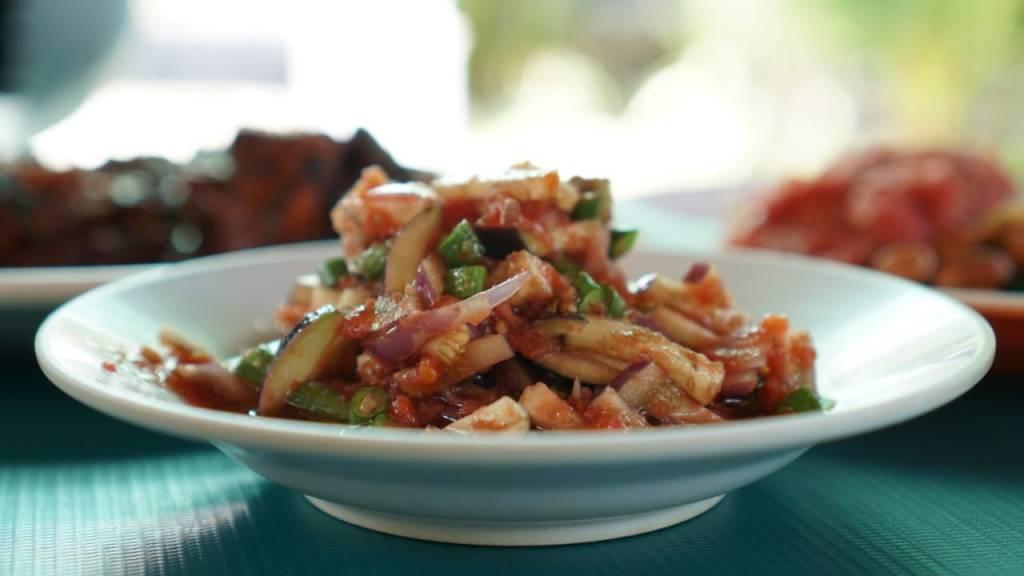 Makanan Khas Lombok Beberok Terong