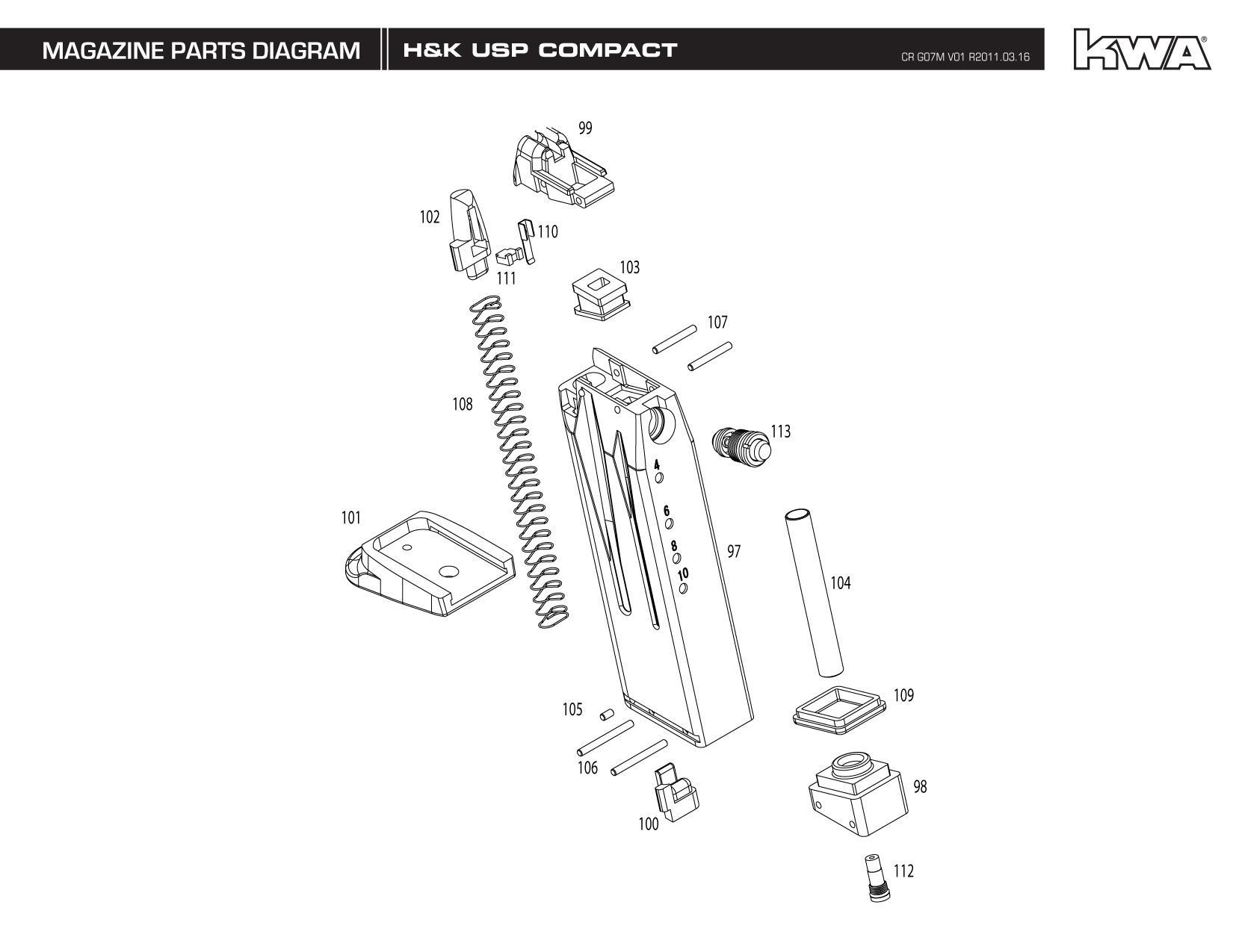 Kj Works Parts Diagram
