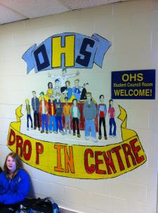 OHS - Drop In Centre - Mural