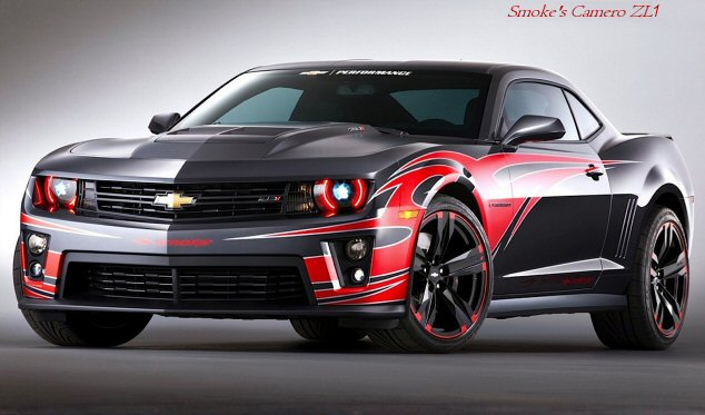 Tony's Tribal Camaro ZL1 (1/4)