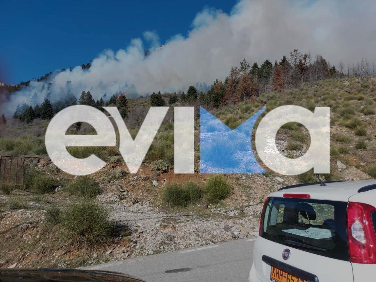 Μεγάλη πυρκαγιά στο Καρπενήσι κοντά σε ξενοδοχείο – Τι είπε στο evima.gr ο δήμαρχος Νίκος Σουλιώτης