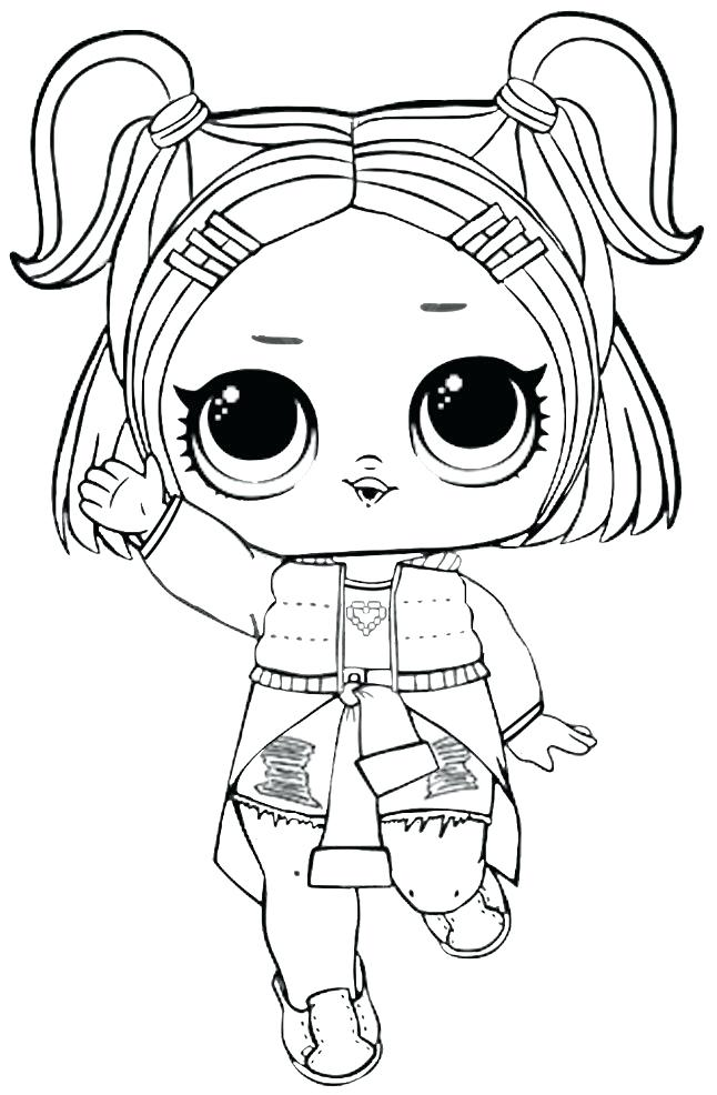 Lol Surprise Dolls Coloring Pages That Are Blank Lol Epicgaming