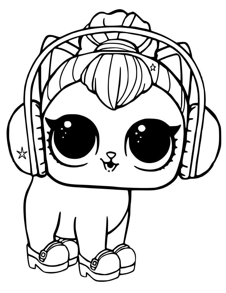 Littlest Pet Shop Free Colouring Pages Free Coloring Pages
