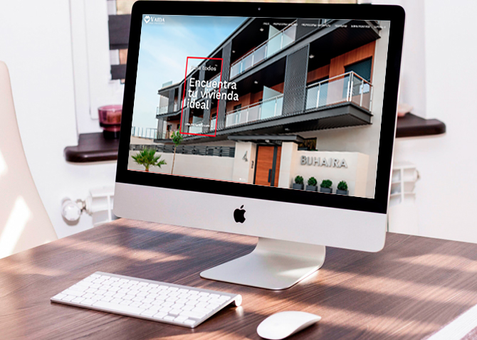 Vaida Grupo Inmobiliario - Página Web - Evirom