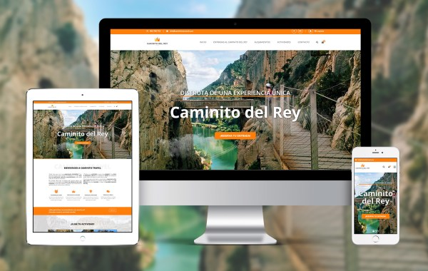 Caminito Travel en ipad, imac y iphone