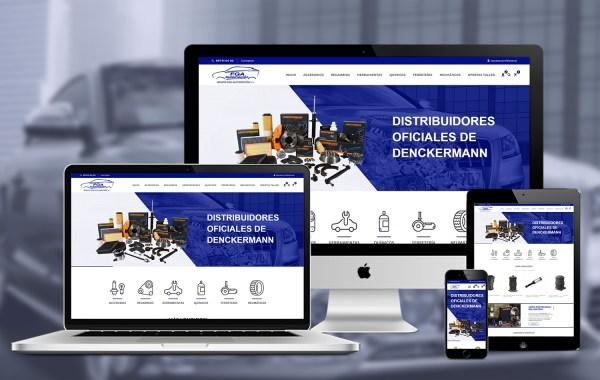 Diseño de tienda online FGA Automoción