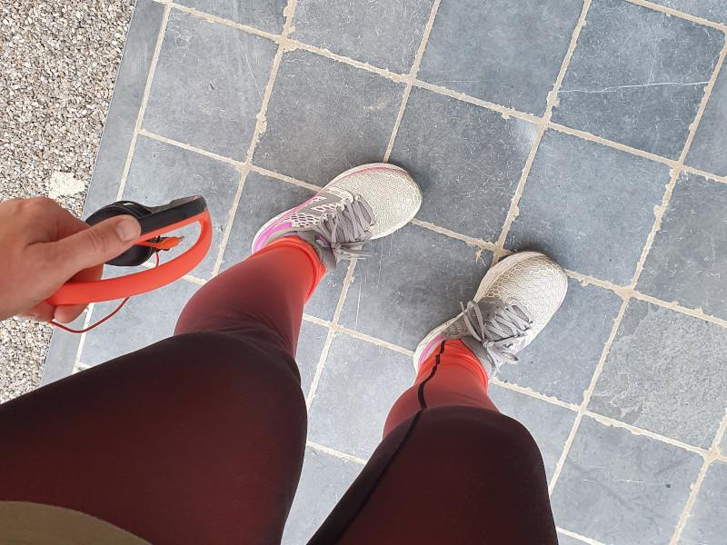 terug gaan joggen