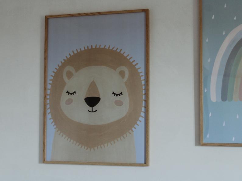 Leeuw als wanddecoratie