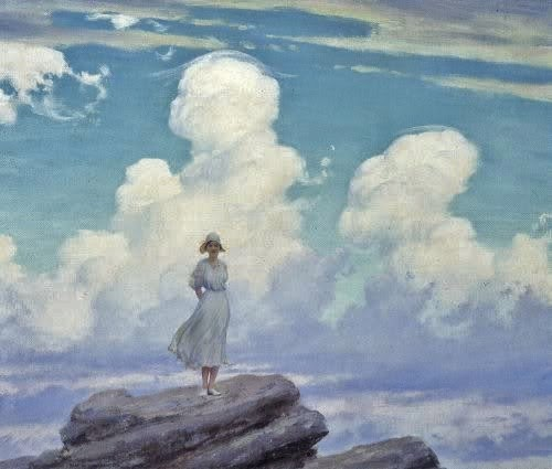 Charles Courtney CurranThe Veiled Cloud 1926