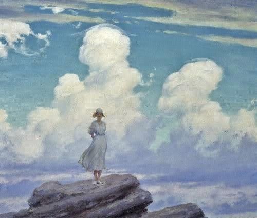 Charles Courtney CurranThe Veiled Cloud 1926