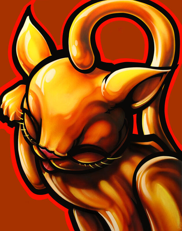 Golden Kitty