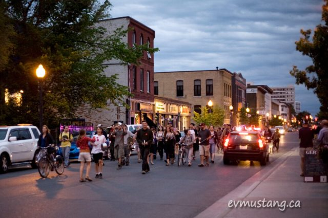 image of the first Caseroles night, Peterborough May 30, 2012