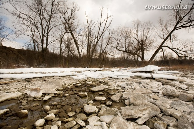 image of rocks and ice