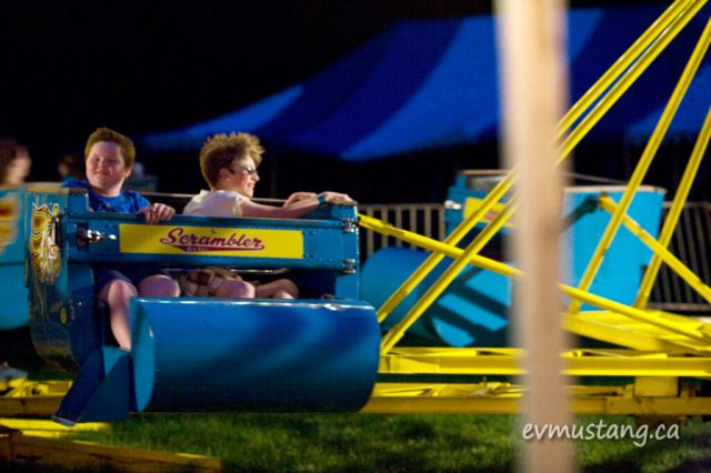 image of rory and friend on scrambler