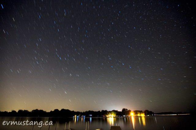 image of stars over gannon bay