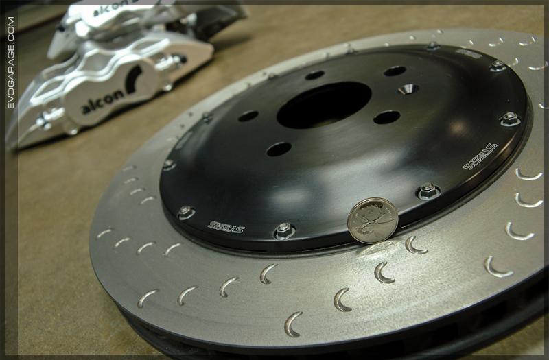 stasis brake hat alcon rotor