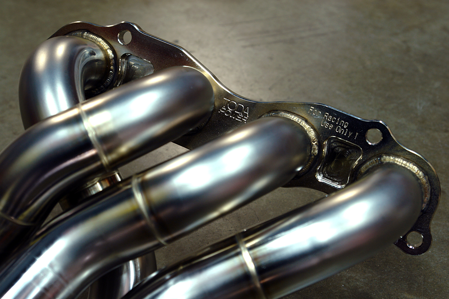 toda k20 race header