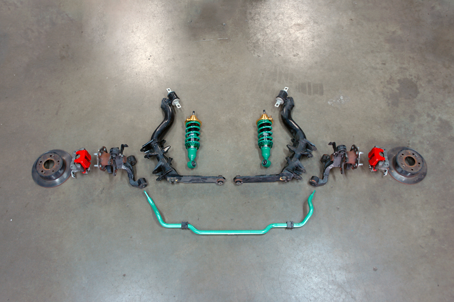 jdm dc5 brake suspension