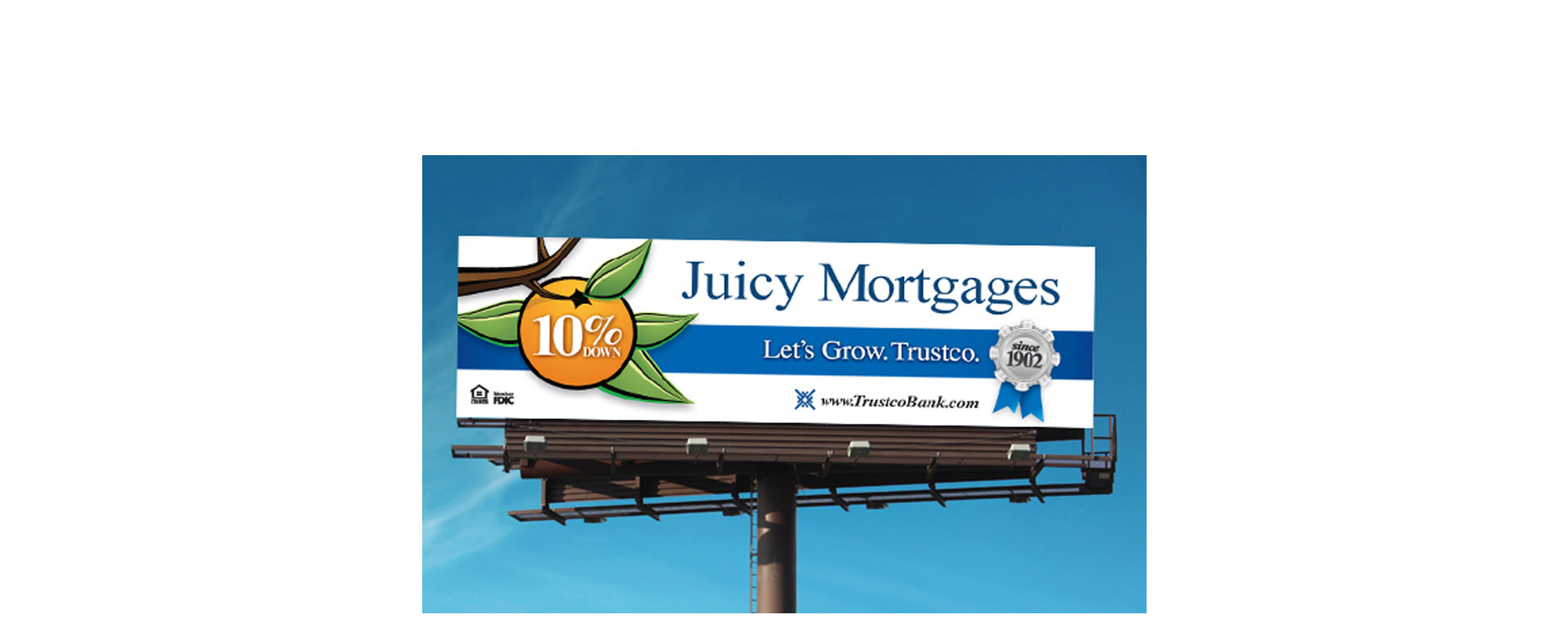 Juicy Mortgages Outdoor Campaign
