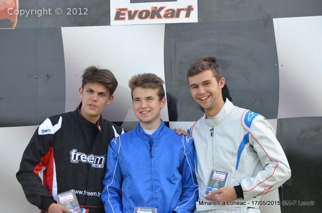 Lohéac 2015 - podium KFS jeune