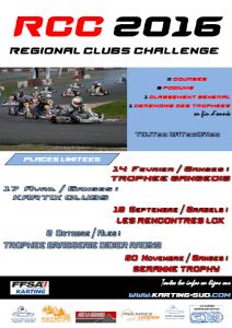REGIONAL CLUBS CHALLENGE 2016 - Affiche