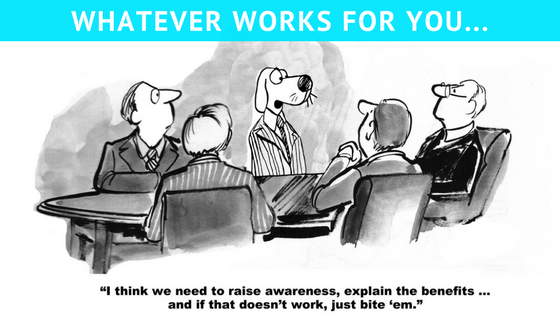 advertising your business cartoon