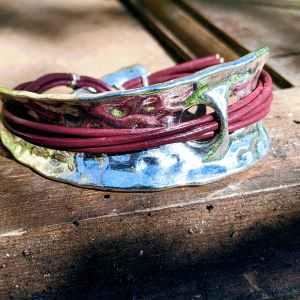 manchette bracelet evol bijoux