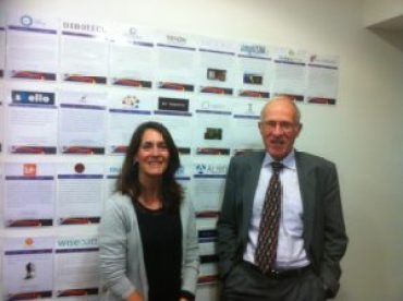 Perrine Delobelle et Jean-Charles Pomerol, incubateur Agoranov