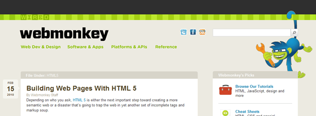 Unleashing Html5 Articles Guides Resources Tutorials And Cheat