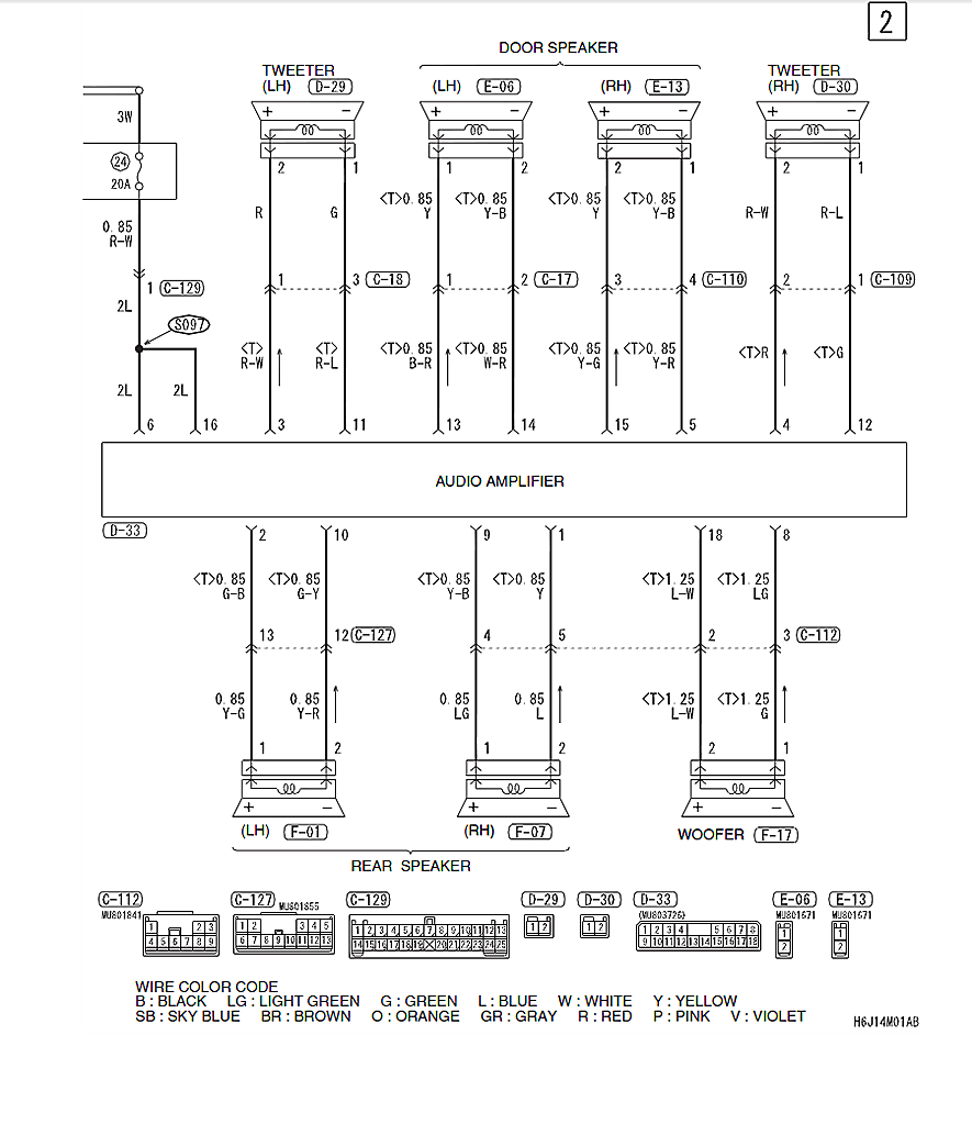 mitsubishi colt wiring diagram 2005 wiring diagram rh 6 nijsshop be