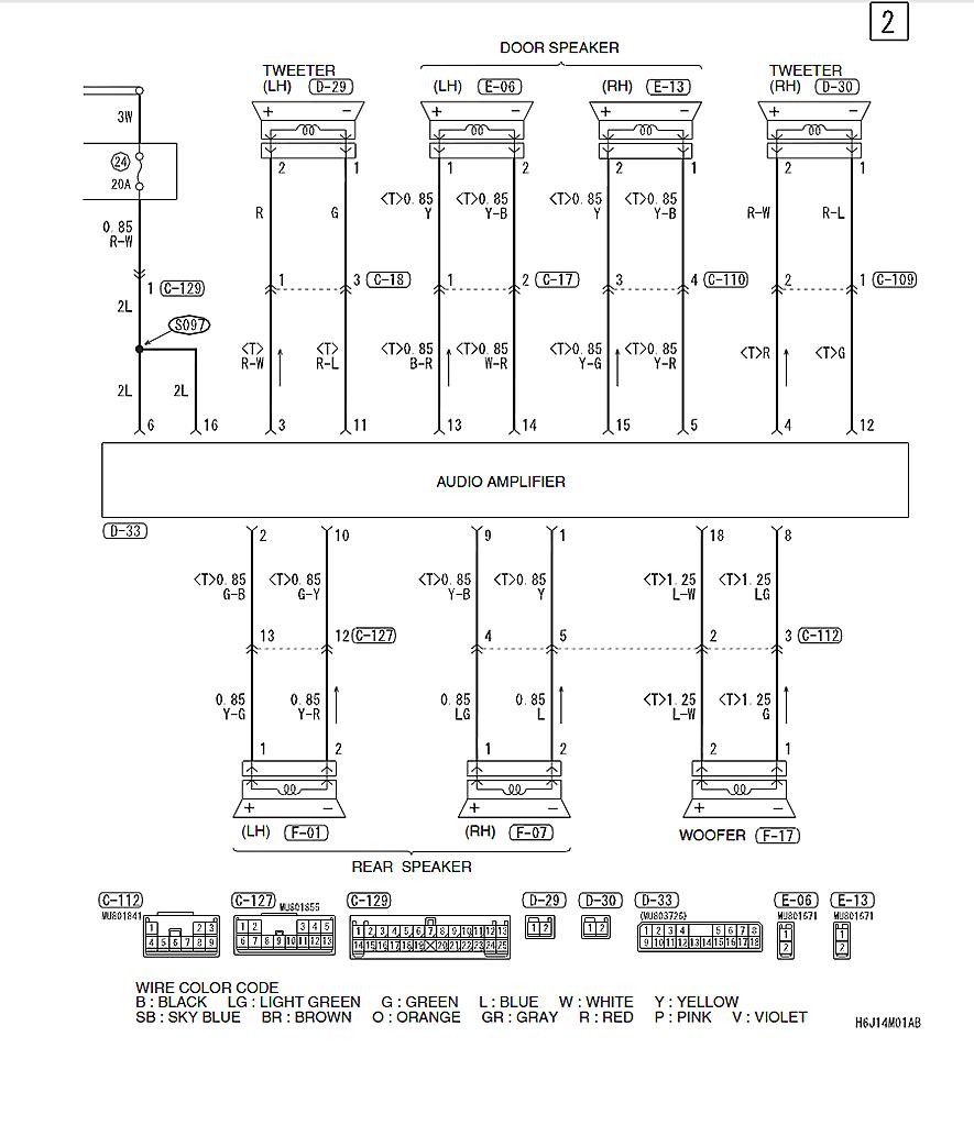 Service manual ac repair diagram mitsubishi lancer